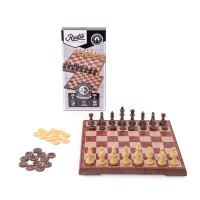 Rustik Game Magnetic Chess