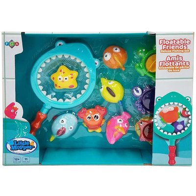 Little Moppet Floatable Friends Delxue Fishing Set
