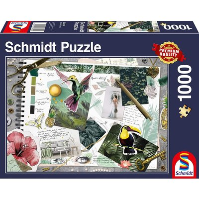 Schmidt Puzzle 1000pc Moodboard