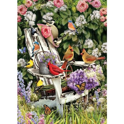 Cobble Hill Puzzles Cobble Hill Puzzle 1000pc Summer Adirondack Birds