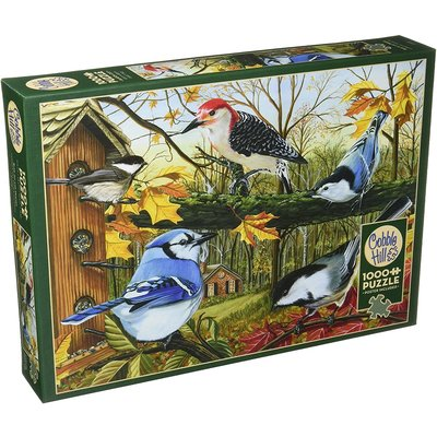 Cobble Hill Puzzles Cobble Hill  Puzzle 1000pc Blue Jay and Friends