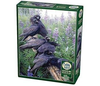 Cobble Hill Puzzle 1000pc Raven Rendezvous