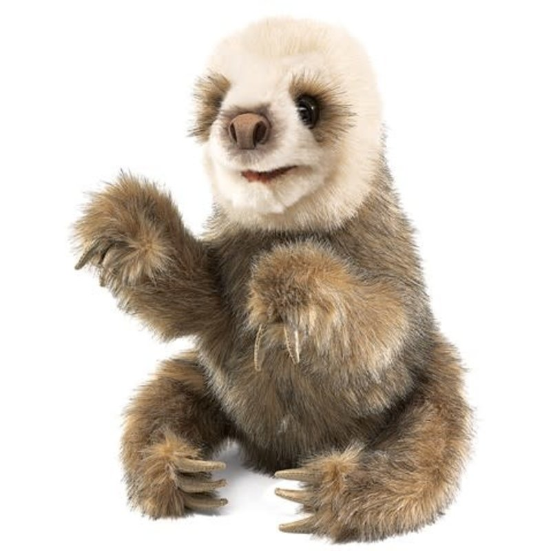 Folkmanis Folkmanis Puppet Baby Sloth