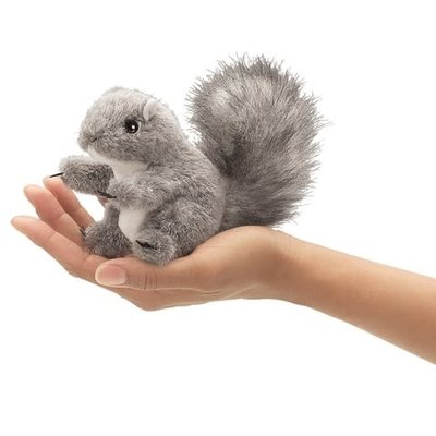 Folkmanis Folkmanis Puppet Mini Gray Squirrel