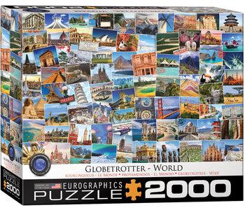 Eurographic Puzzle 2000pc Globetrotter World