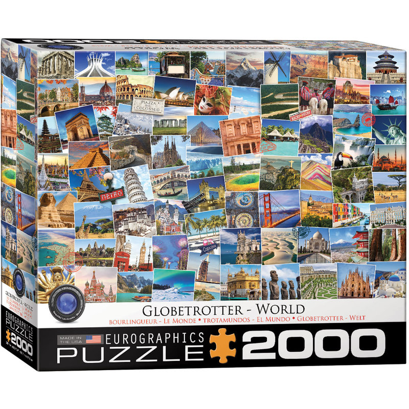 Eurographics Eurographic Puzzle 2000pc Globetrotter World