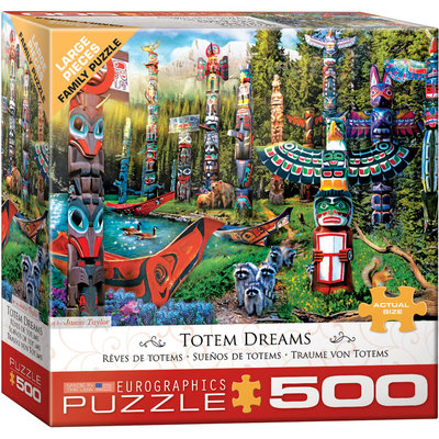 Eurographics Eurographic Puzzle 500pc Totem Dreams