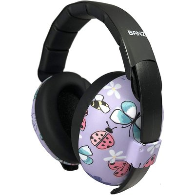 Baby Banz Baby Banz Infant Earmuffs Butterfly