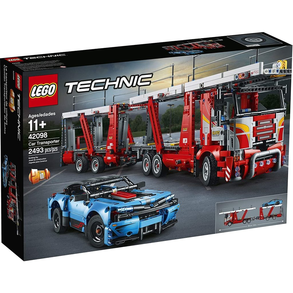 Lego Lego Technic Car Transporter