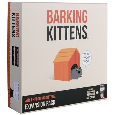 Exploding Kittens Expansion #3 Barking Kittens