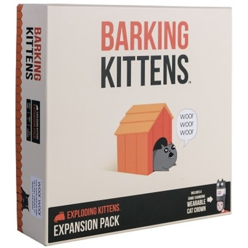 Exploding Kittens Expansion #3 Barking Kittens