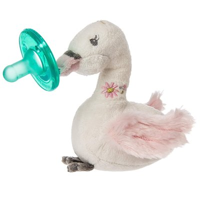 Wubbanub Animal Soother Itzy Glitzy Swan