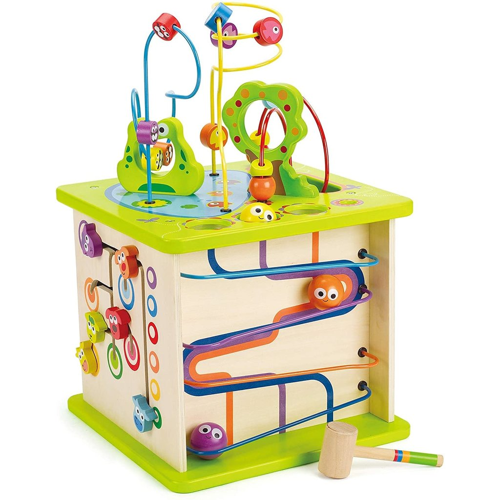 Hape Toys Hape Totally Amazing Country Critters Play Cube
