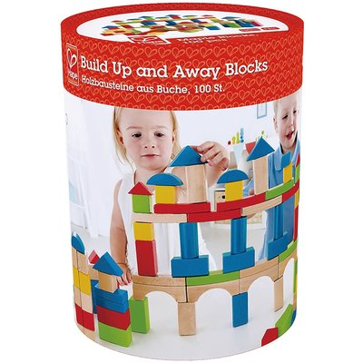 Hape Wood Blocks Up and Away 100pc