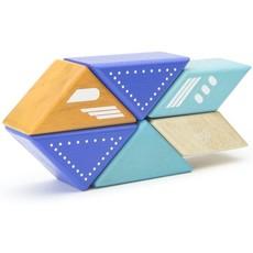 Tegu Tegu Magnetic Wooden Blocks Travel Pals Jet Plane