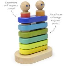 Tegu Tegu Magnetic Wooden Blocks Baby  Floating Stacker