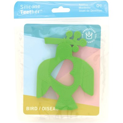 Manhattan Toy Manhattan Baby Silicone Teether Bird