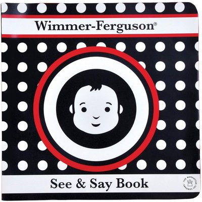 Manhattan Toy Wimmer-Ferguson Baby Soft Book See & Say