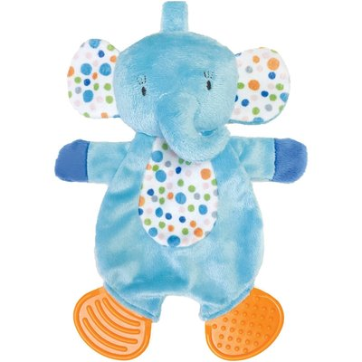 Manhattan Toy Manhattan Teether Elephant Snuggle Blankie