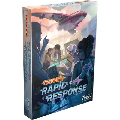 Z-Man Game Pandemic Rapid Response