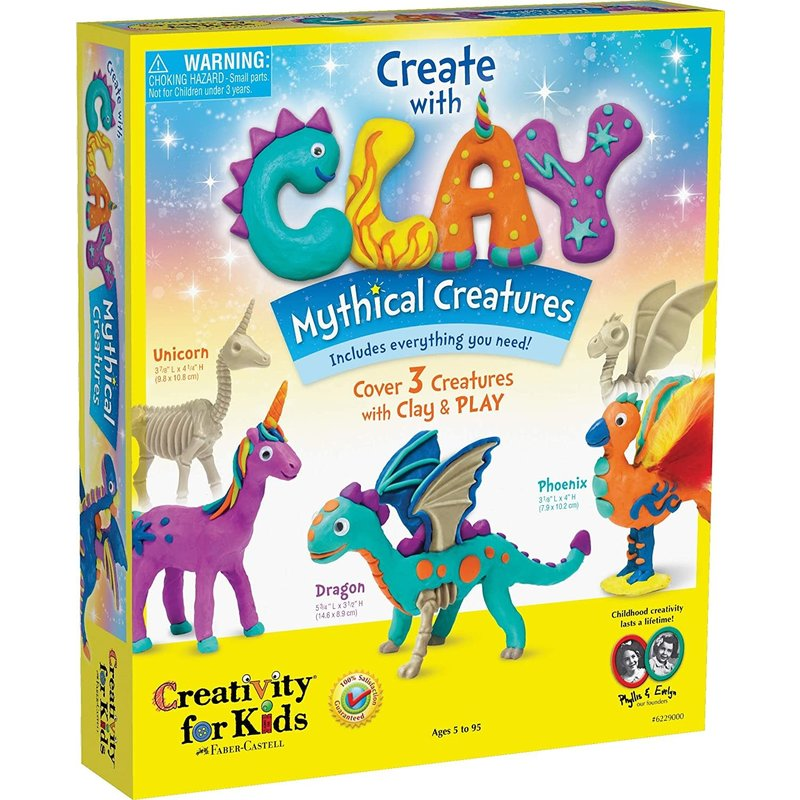 Creativity for Kids Creativity for Kids Create with Clay Mythical Creatures