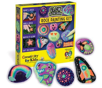 Creativity for Kids Craft Glow in the Dark Rock Painting Kit