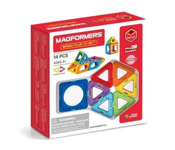 Magformers Starter Set 14pc Basic Plus