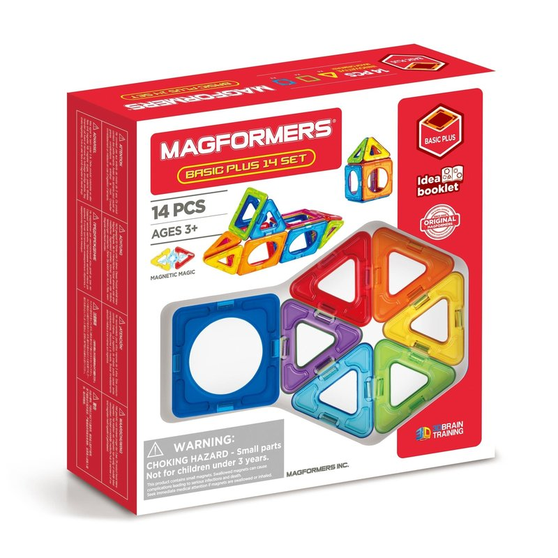 Magformers Magformers Starter Set 14pc Basic Plus
