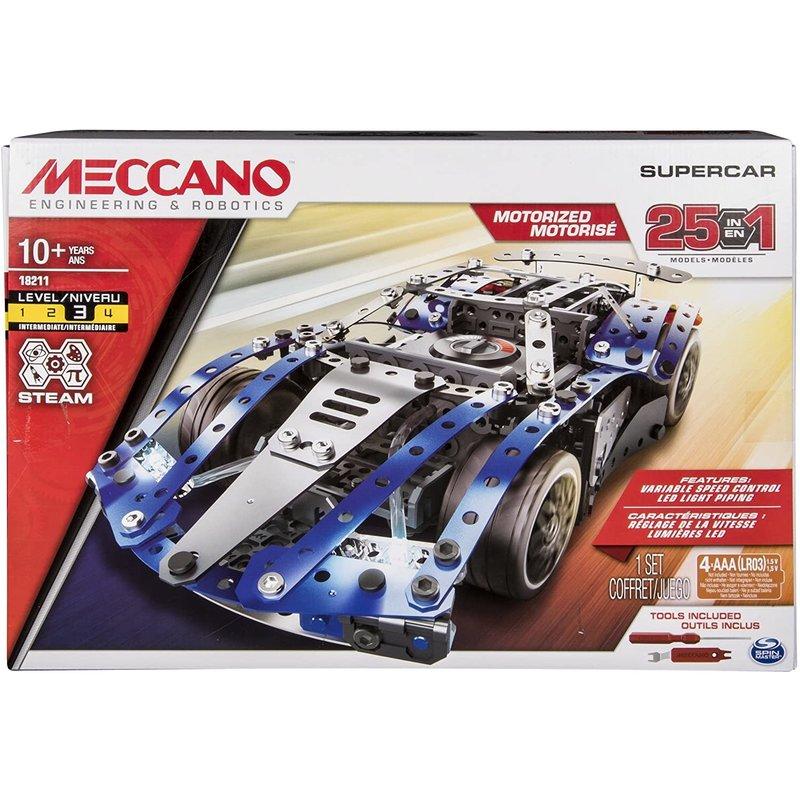 Meccano 25 Models Supercar