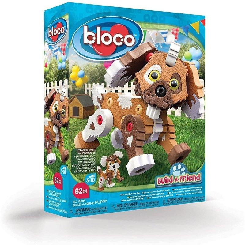 Bloco Bloco Build a Friend Puppy