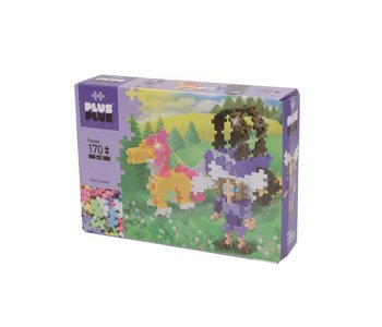 Plus-Plus Mini Basic 170pc Pastel Horse Carriage