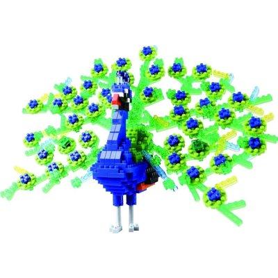 Nanoblocks Deluxe Peacock