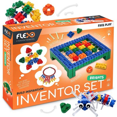 Flexo Free Play Inventor Set Brights