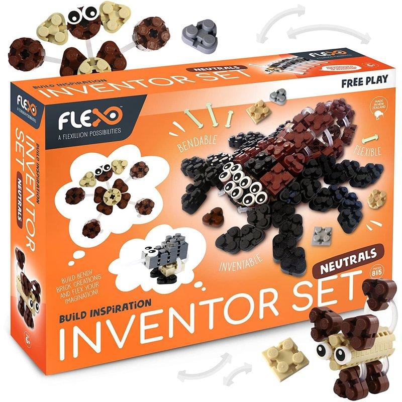 Flexo Free Play Inventor Set Neutrals