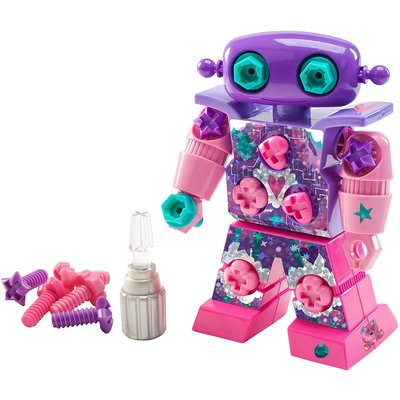 Learning Resources EI  Design & Drill Sparkle Bot Pink