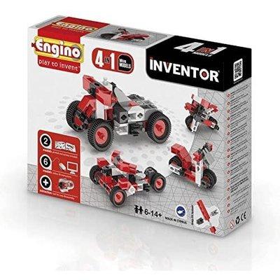 Engino Inventor 4 Models Motorbikes