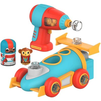 Learning Resources EI Design & Drill Bolt Buddies Race Car