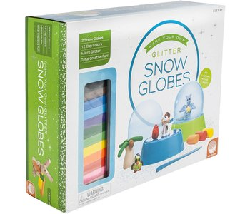 Mindware Craft Make Your Own Glitter Snowglobes