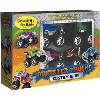 Creativity for Kids Creativity Monster Trucks Custom Shop