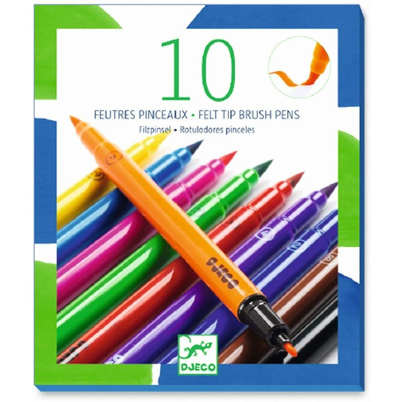 DJeco Djeco Felt Tip Pens Classic Colours