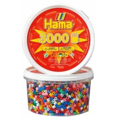Hama Midi Bead in Tub 3000pc