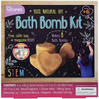 Kiss Naturals DIY Bath Bomb Kit