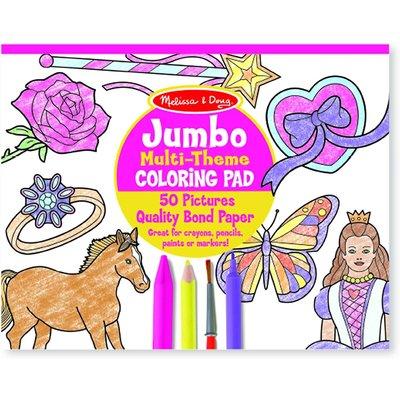 Melissa & Doug Melissa & Doug Coloring Pad Horses, Hearts & Flowers