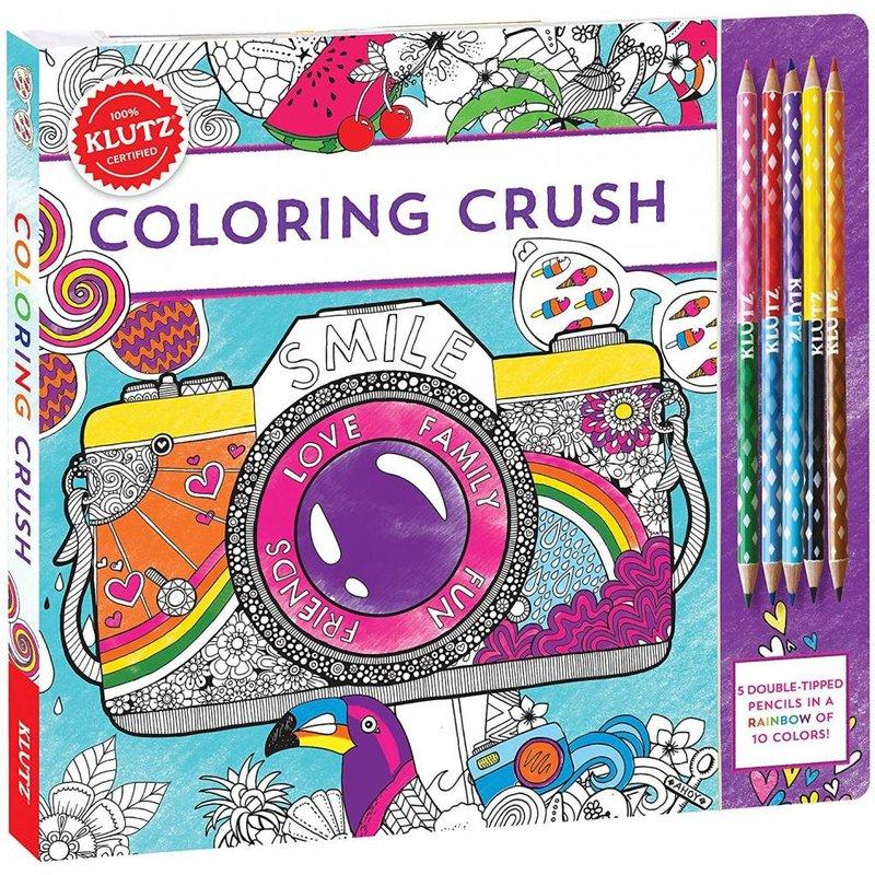 Klutz Klutz Book Coloring Crush
