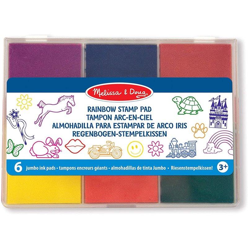Melissa & Doug Melissa & Doug Stamp Set Rainbow Stamp Pad