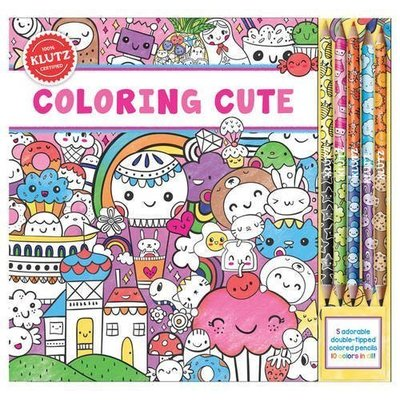 Klutz Klutz Book Coloring Cute