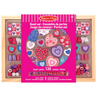 Melissa & Doug Melissa & Doug Craft Heart Beads