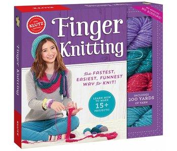 Klutz Book Finger Knitting