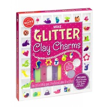 Klutz Klutz Book Glitter Clay Charms