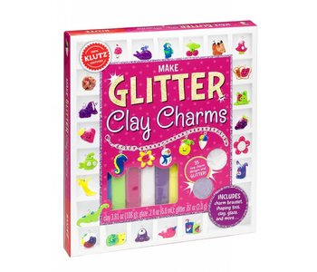 Klutz Book Glitter Clay Charms